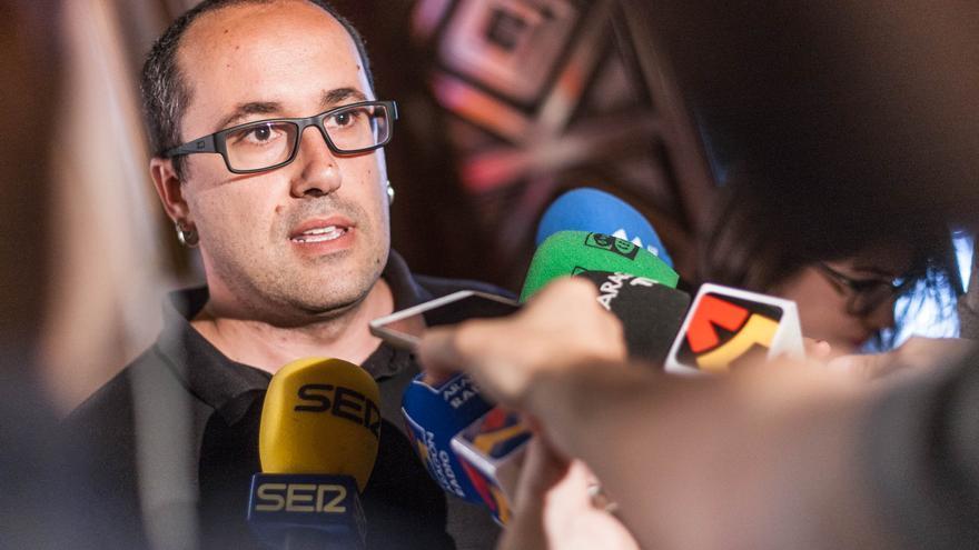 Alberto Cubero, consejero de Servicios Públicos y Personal.