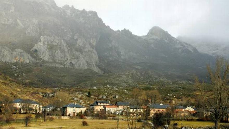 La localidad leonesa de Sena de Luna.