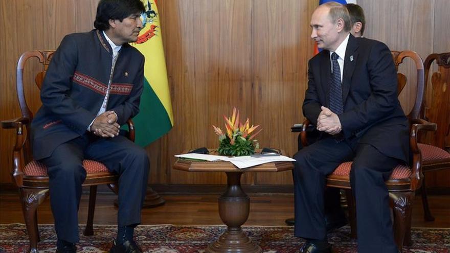 Morales y Putin se reunirán en Irán durante el foro de países exportadores de gas