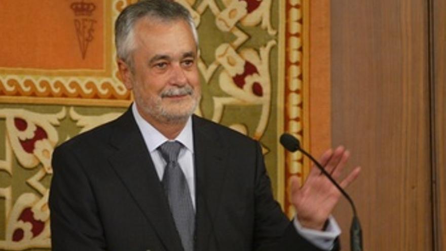 Griñán, En Su Primera Toma De Posesión Como Presidente En 2009
