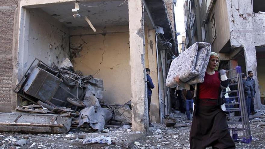 Cazas turcos matan a ocho supuestos miembros del PKK en el norte de Irak