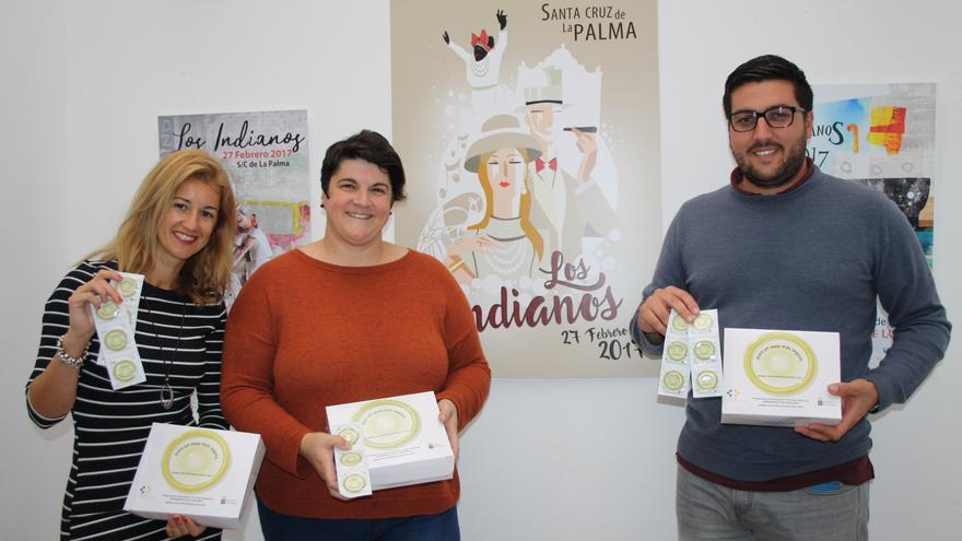 Virginia Espinosa (i), Ascensión Rodríguez y Raico Arrocha.