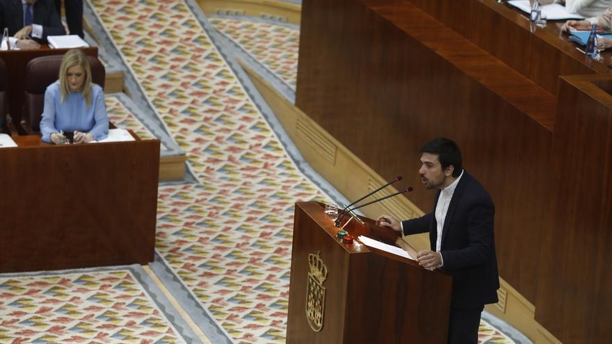 """Espinar dice que la moción contra Cifuentes no es """"partidaria"""" sino para """"defender la democracia"""""""