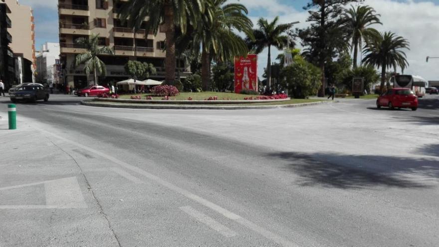 El Casco Histórico asegura que la ciudad sigue con mucho polvo.