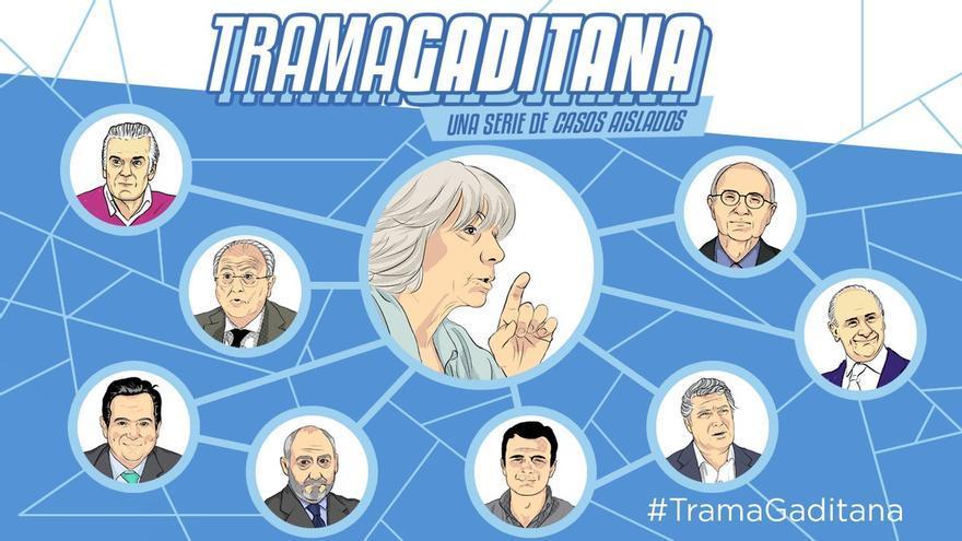 Una de las imágenes de la campaña lanzada por Podemos.