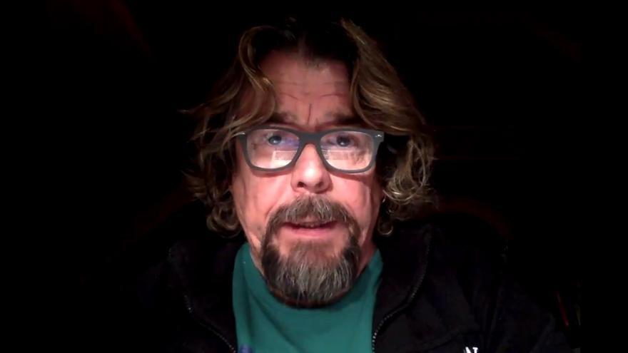 Juan Muñoz en el vídeo de la disculpa
