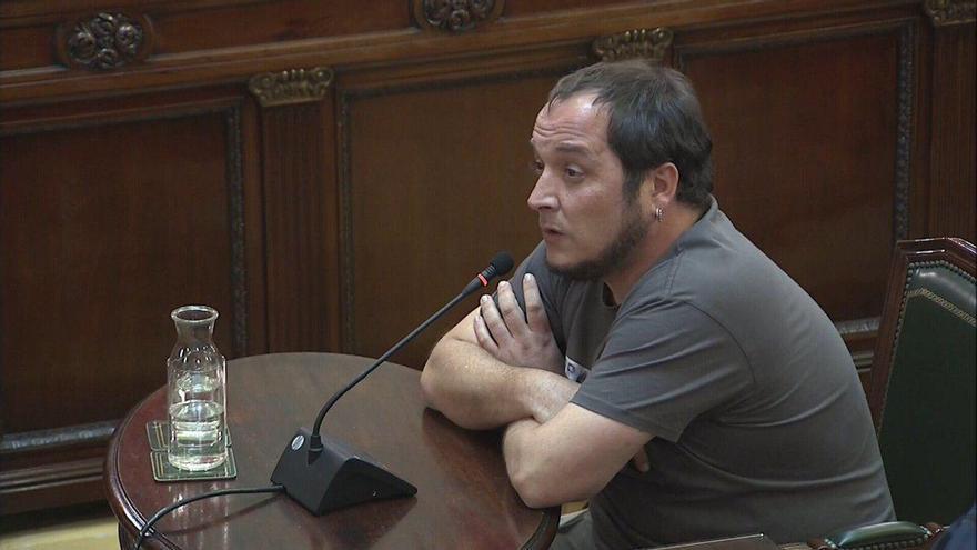 David Fernández, en su declaración como testigo