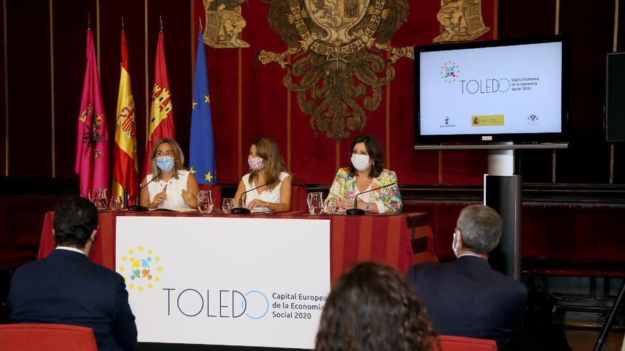 Acto presentación de Toledo como Capital Europea de la Economía Social
