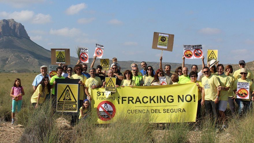 Plataforma por una cuenca el Segura libre de 'fracking'