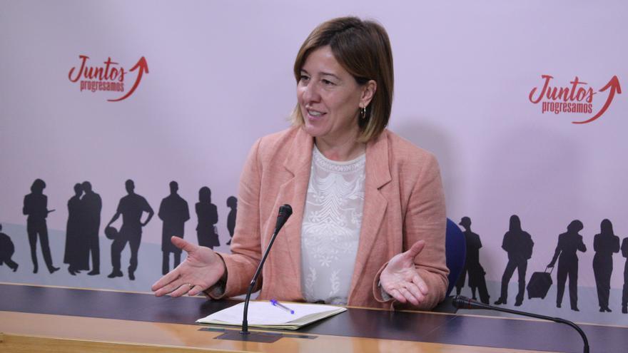 Blanca Fernández, portavoz PSOE Cortes Castilla-La Mancha