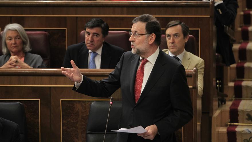 Rajoy hace campaña este martes en Pamplona y Zaragoza