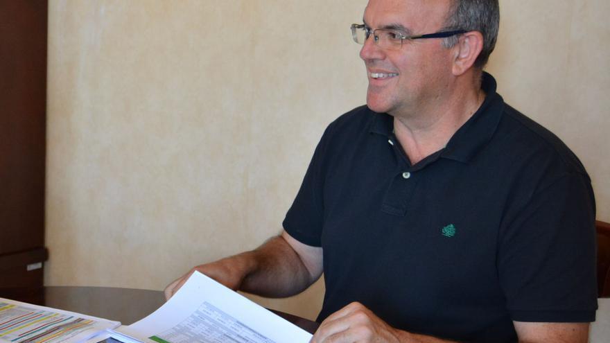 Anselmo Pestana, vicepresidente del Cabildo de La Palma y consejero de Infraestructuras.