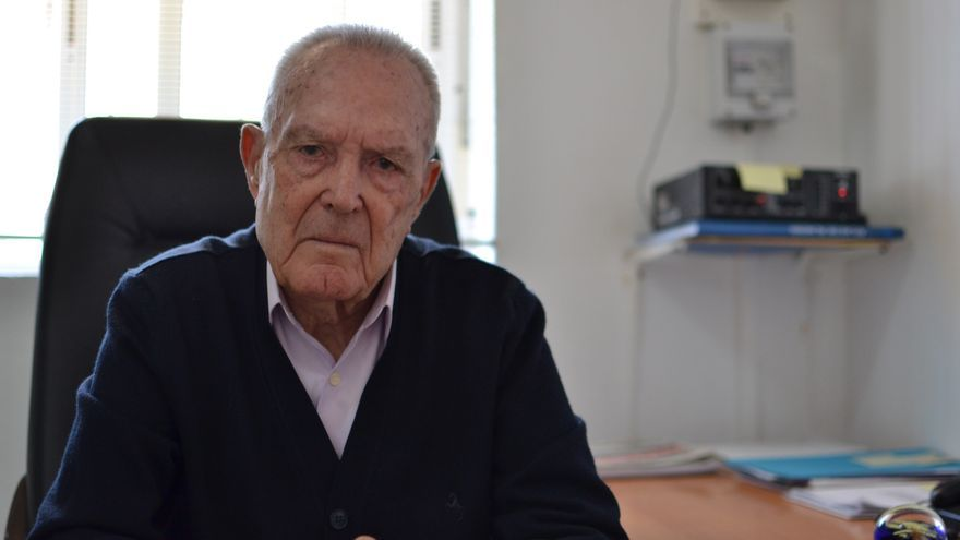 José Antonio Torres, en su despacho del ayuntamiento de Chercos | N.C.