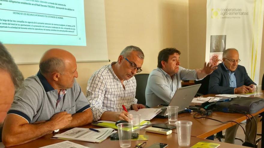 Comisión sectorial de vinos de Cooperativas Agroalimentarias de Castilla-La Mancha