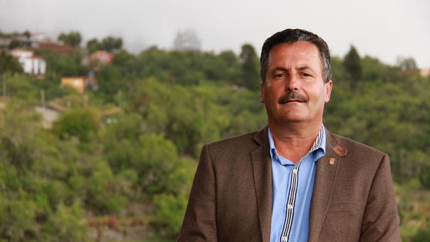 Vicente Rodríguez, alcalde de Puntagorda.