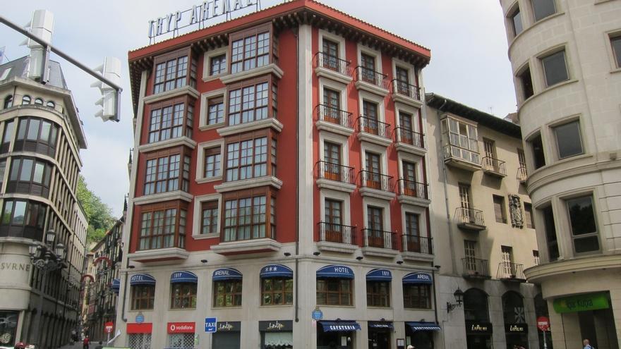 Los precios hoteleros caen en Euskadi un 1,7% en noviembre