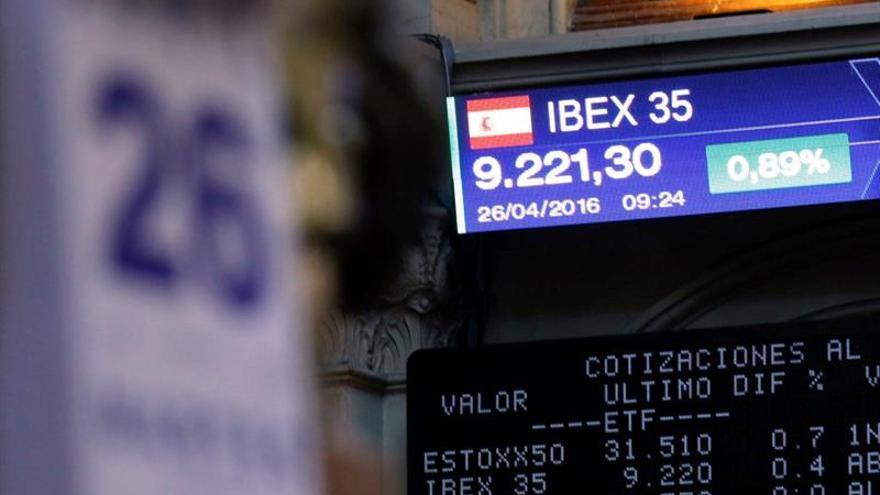 La Bolsa española negocia 78.068 millones de euros en abril, un 12 % menos