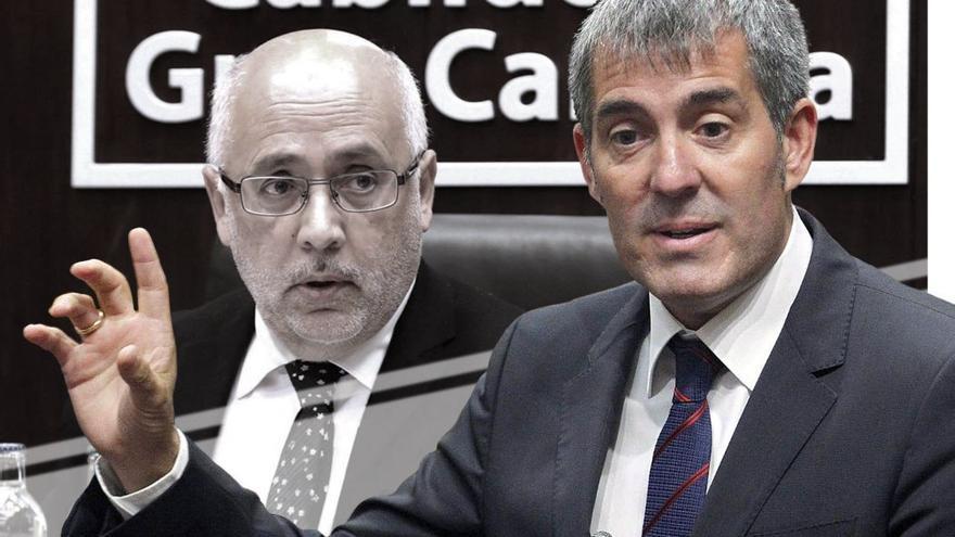 Antonio Morales critica la gestión insular del Gobierno de Canarias. (CA).