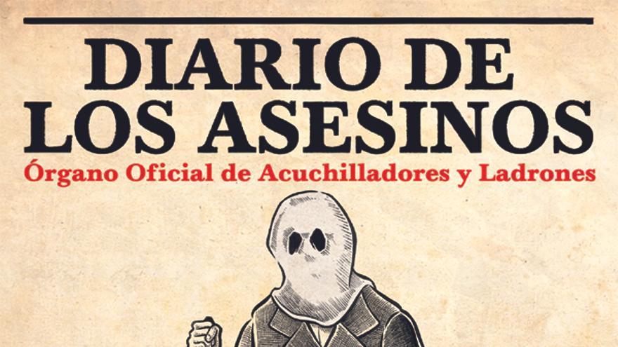 Portada de Diario de los asesinos. Editorial La Felguera
