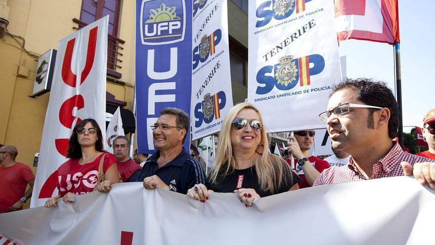 Canarias también se manifiesta contra los recortes sociales y laborales