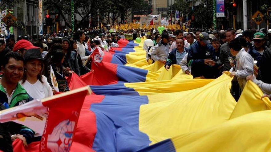 Comienzan en Colombia las marchas por el Día Internacional del Trabajo
