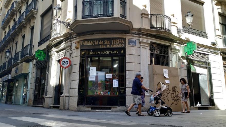 Exterior de la farmacia. FOTO: Lourdes Cifuentes