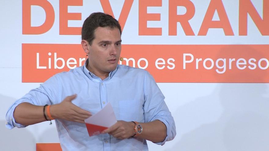 """Rivera reprocha a Monedero su apoyo a la """"tiranía"""" de Maduro y le afea que la compare con regímenes democráticos"""