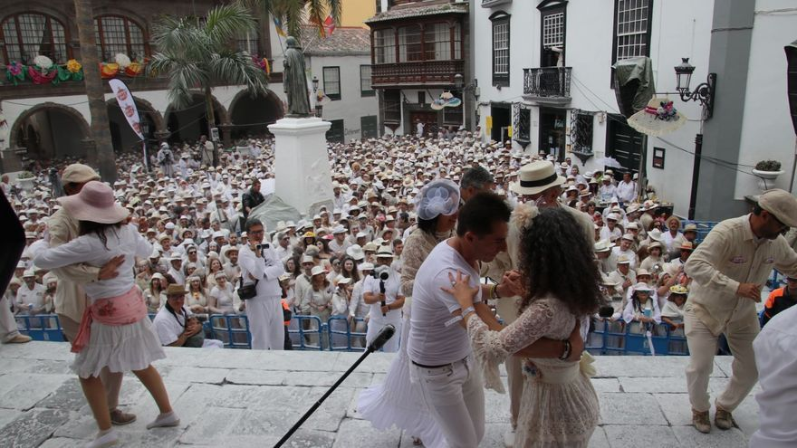 Ritmo en la Plaza de España.