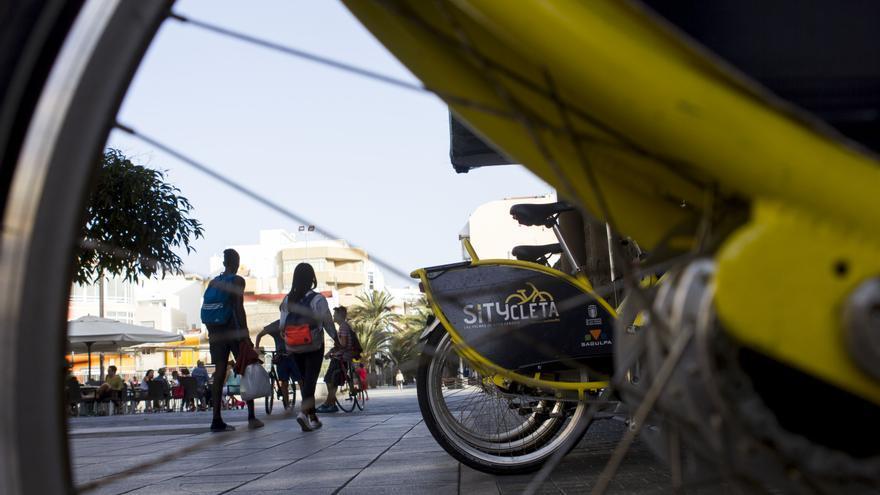 La Syticleta se ha convertido en una de las puntas de lanza del Ayuntamiento de Las Palmas de Gran Canaria en materia de movilidad. JOSÉ J. JIMÉNEZ