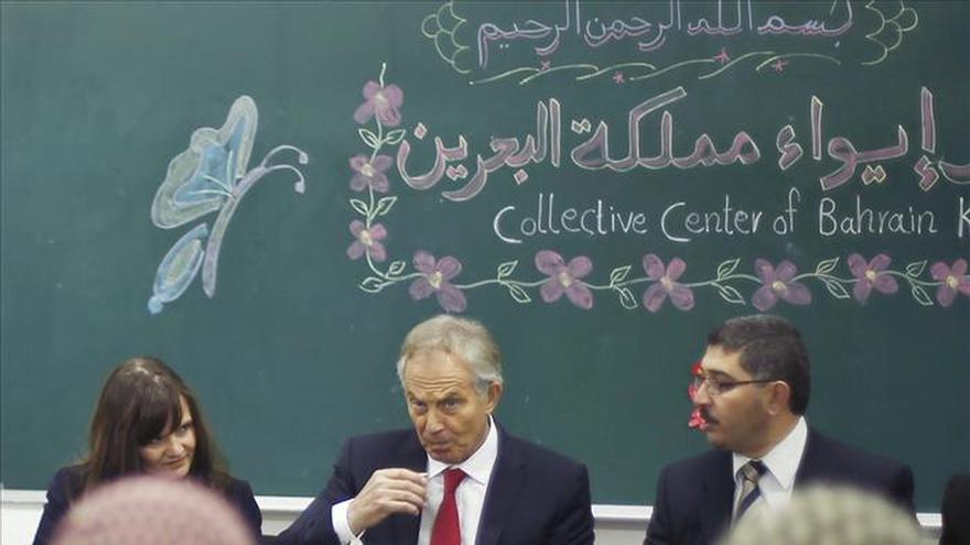 """Tony Blair tacha de """"crimen contra la humanidad"""" la continuación de la situación en Gaza"""