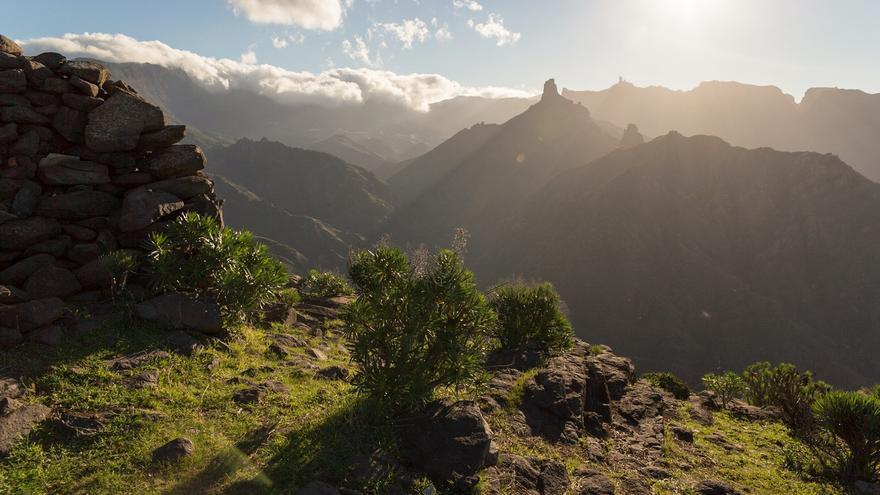 Imagen de la cumbre de Gran Canaria.