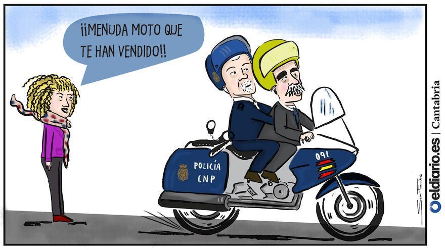 La moto de Revilla
