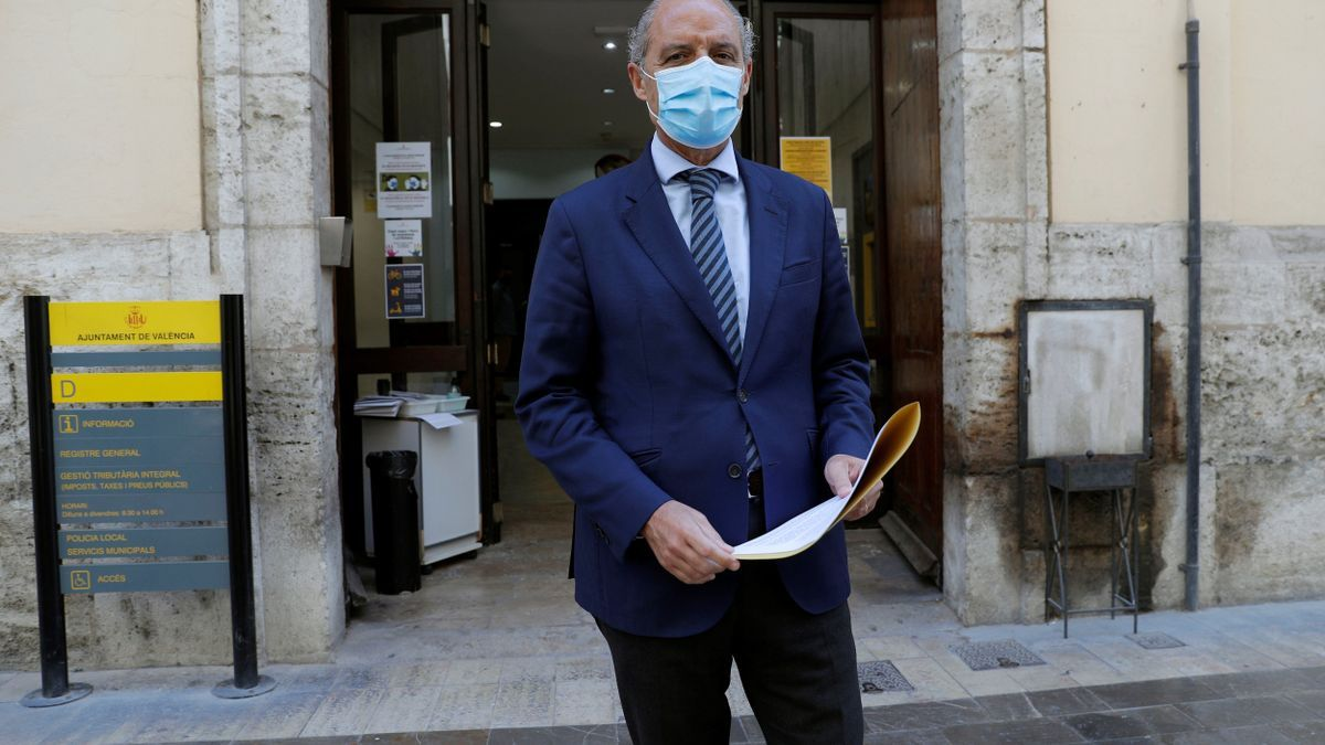 El expresident de la Generalitat, Francisco Camps. EFE/Manuel Bruque