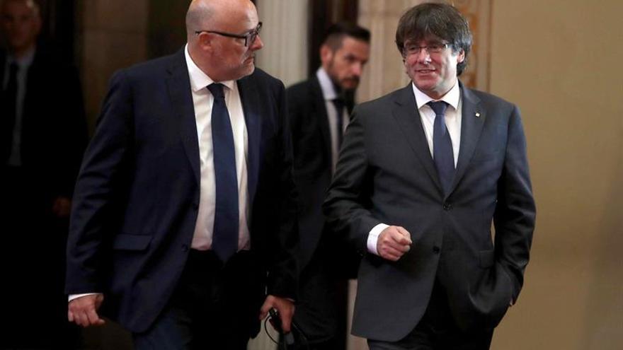 La Fiscalía presenta una querella contra Puigdemont y su Govern por malversación