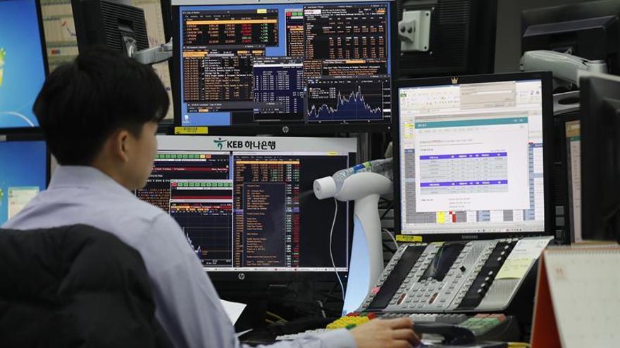La Bolsa de Seúl baja un 0,58 % en la apertura hasta los 2.049,49 puntos
