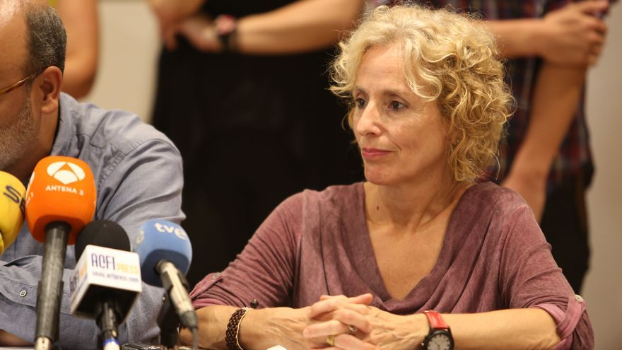 La consejera de Igualdad del Cabildo de Gran Canaria, María Nebor (ALEJANDRO RAMOS)