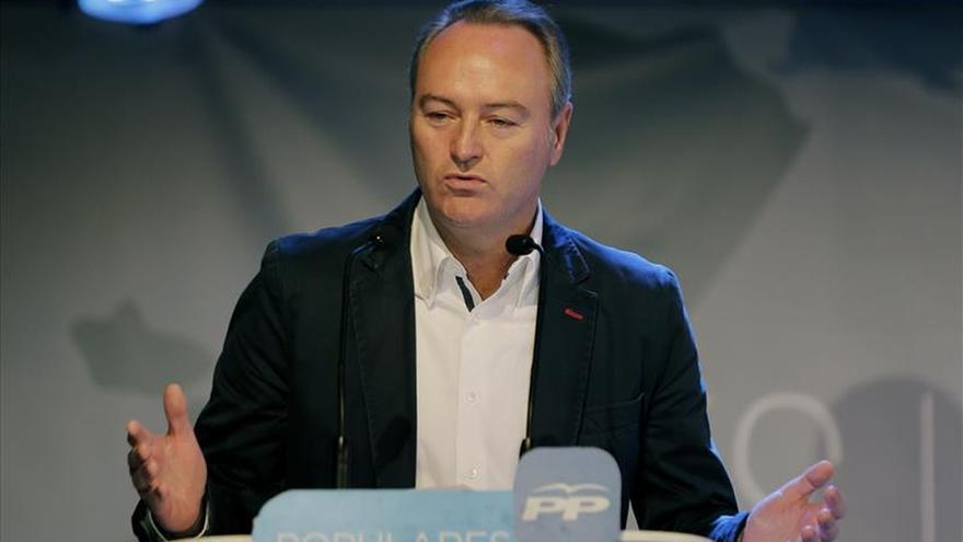 Alberto Fabra candidato del PP a la Generalitat