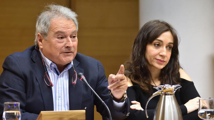 Alfonso Rus en la comisión de investigación del Caso Taula en las Corts valencianas
