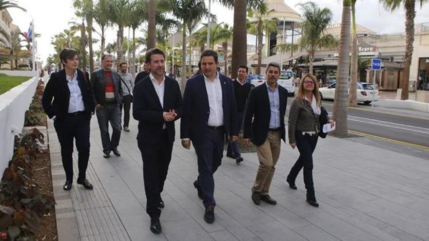 Carlos Alonso y José Julián Mena, en una imagen de archivo