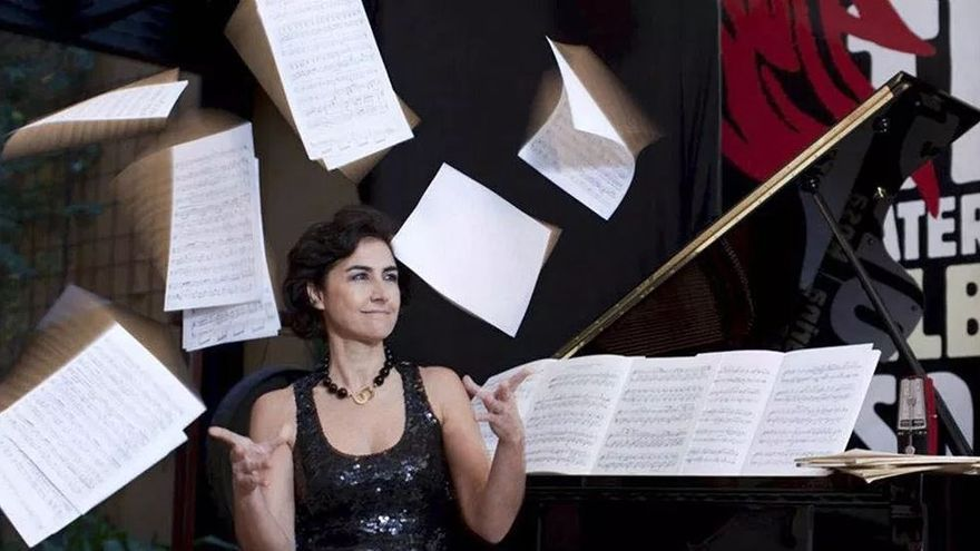La pianista Rosa Torres-Pardo