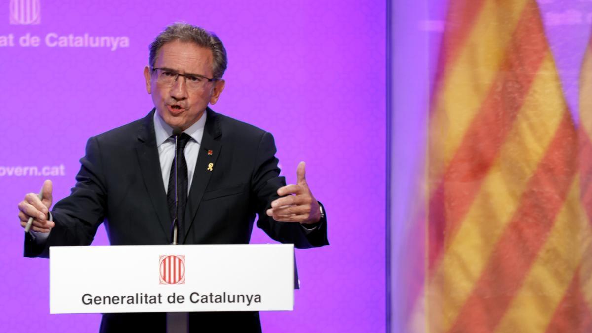 El conseller de Economía, Jaume Giró.