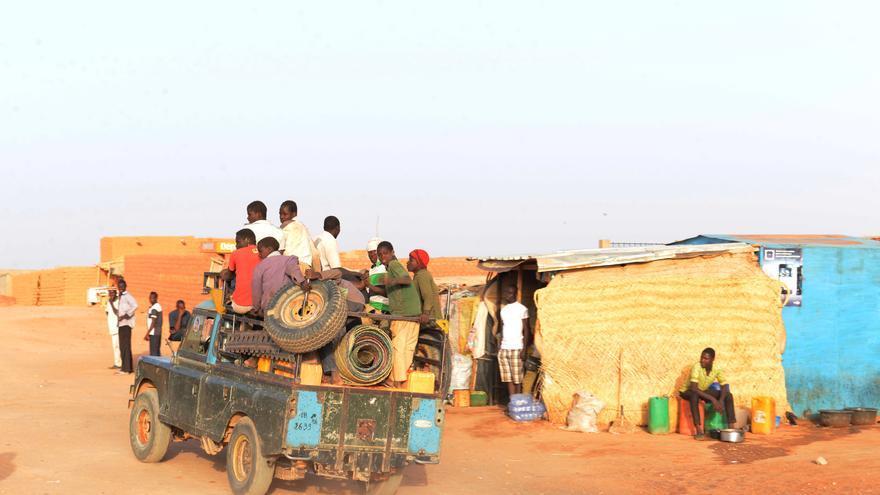 La ciudad nigerina de Agadez, también conocida como 'la puerta del desierto' por su posición estratégica.
