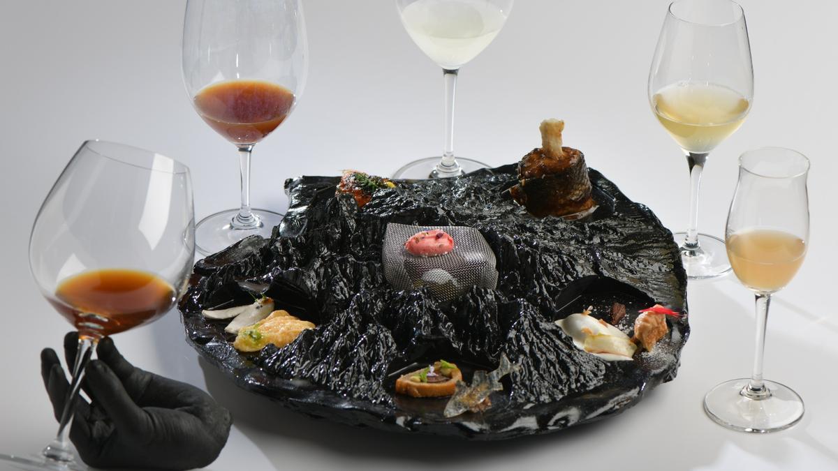 Exodo marino, plato de Sandra García.