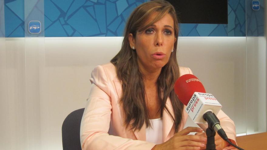 Alicia Sánchez-Camacho avisa de que el Estado reaccionaría a una declaración de independencia en el Parlamento