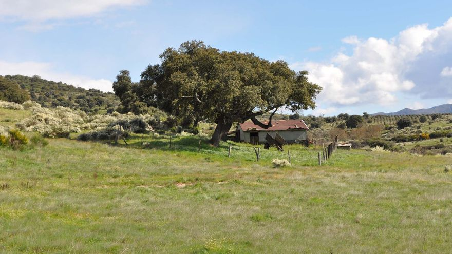 Una escena del parque natural de Las Batuecas, en Salamanca.