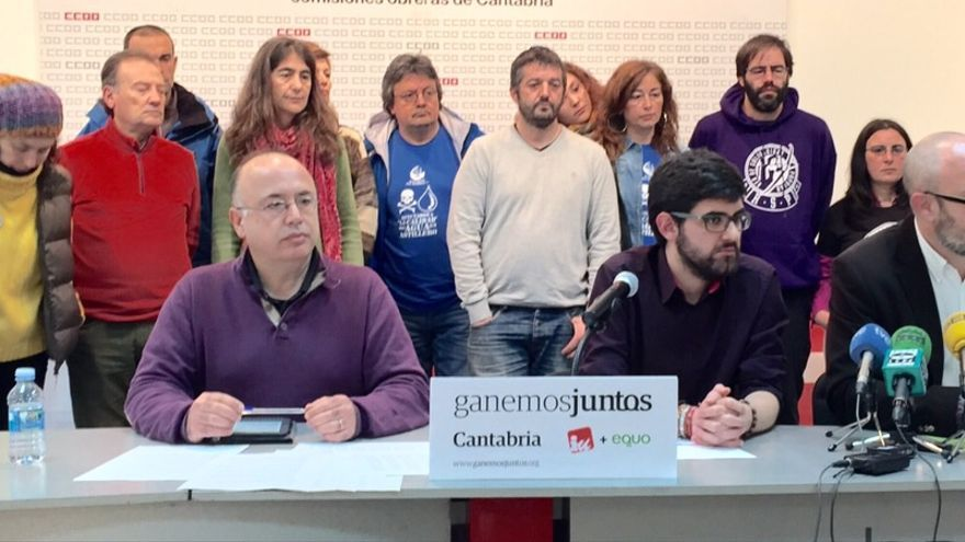 Ganemos Juntos Cantabria integraba a miembros de IU, Equo e independientes.