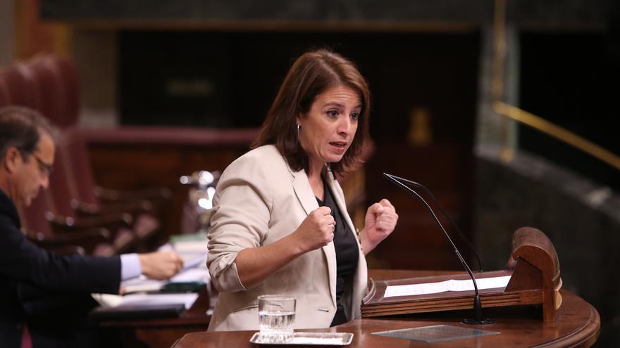 """Lastra cree que Aznar estará """"muy contento"""" con la acusación de Casado a Sánchez y pide al líder popular que pida perdón"""