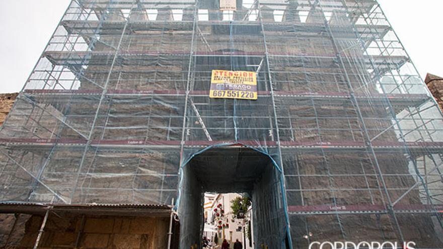 Obras de mejora en la Puerta de Almodovar | MADERO CUBERO