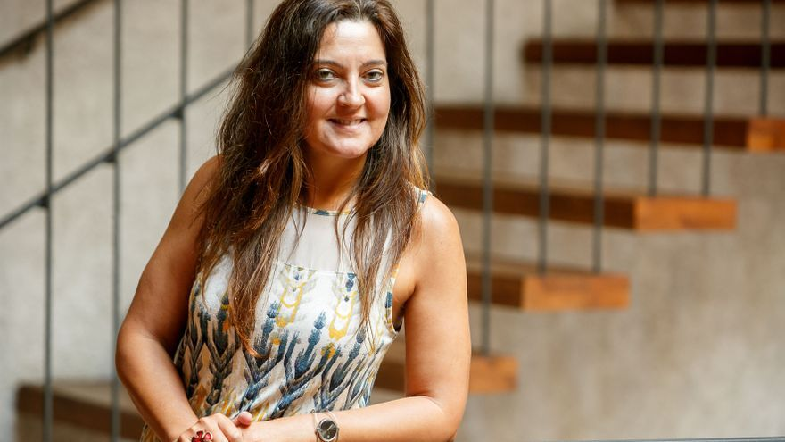 La profesora de Derecho Internacional Público, Alicia Chicharro / Foto: cedida.