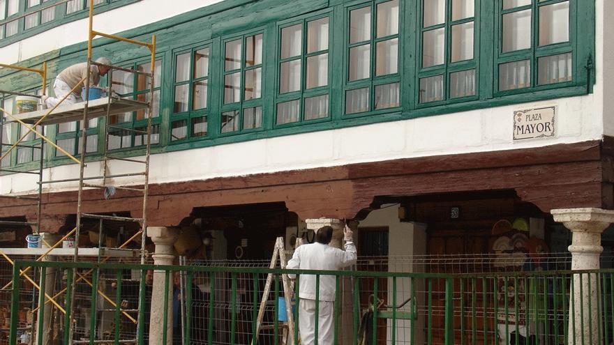 Obras de rehabilitación en Almagro